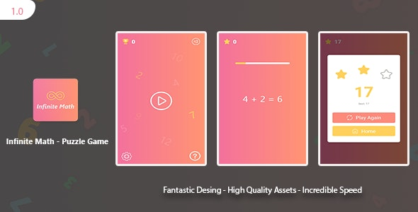 Infinite Math: Android Puzzle Game - CodeCanyon Item for Sale