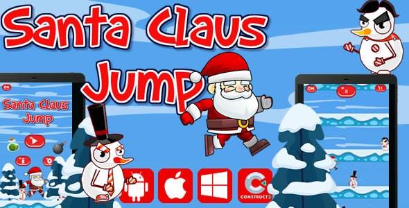 Santa Claus Jump - Html5 Game (Capx)