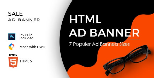 Sale Ad Banners Template - CodeCanyon Item for Sale