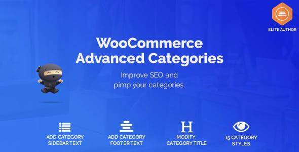 WooCommerce Advanced SEO Categories