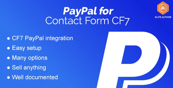 Contact Form CF7 – PayPal Integration