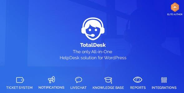 TotalDesk – Helpdesk, Live Chat, Knowledge Base &Ticket System