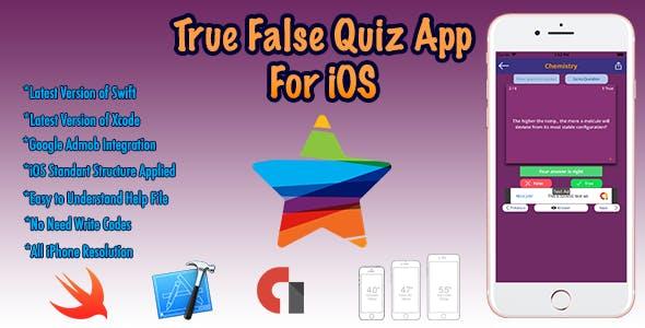 True False Quiz For iOS