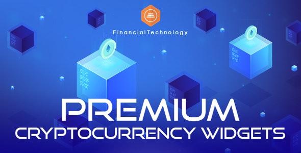 Premium Cryptocurrency Widgets | WordPress Crypto Plugin - CodeCanyon Item for Sale