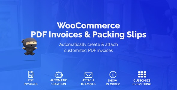WooCommerce PDF Invoices & Packing Slips by welaunch