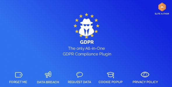 WordPress GDPR & CCPA - CodeCanyon Item for Sale