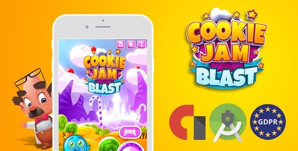 cookie jam blast (Android Studio + Admob Banner&Interstitial)