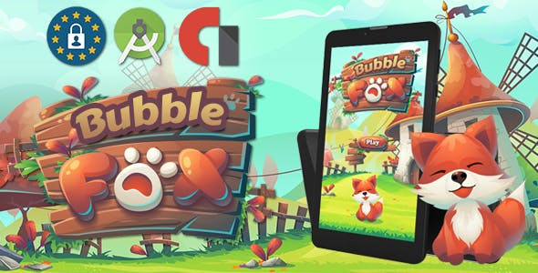 Bubble Fox Shooter ( Android Stutoi + admob Banner & interstitiel )