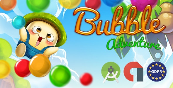 BUBBLE ADVETURE (Admob Banner and Interstitial) - CodeCanyon Item for Sale