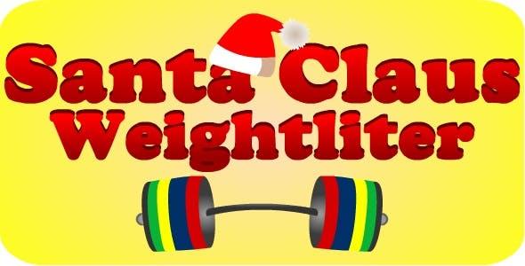 Santa Claus Weightlifter