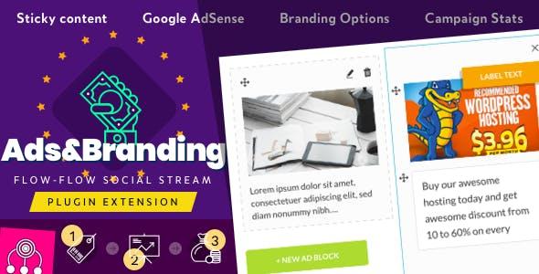 Advertisement & Branding for Flow-Flow Social Stream        Nulled