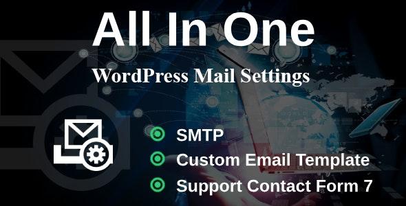 WP Mail Settings - Missing WordPress Settings - CodeCanyon Item for Sale