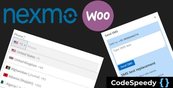 Nexmo WooCommerce SMS Alert Plugin by CodeSpeedy - CodeCanyon Item for Sale