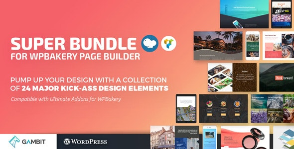 Super Bundle for WPBakery Page Builder (formerly Visual Composer) - CodeCanyon Item for Sale
