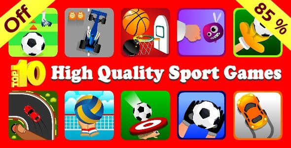 Bundle - Top 10 High Quality Sport Games