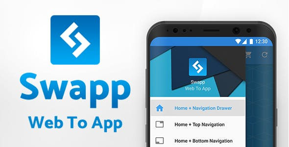 Swapp – Web To App | Multi-Purpose Android WebView App