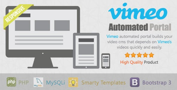 Vimeo Automated Portal - CodeCanyon Item for Sale