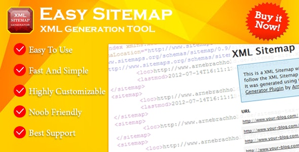 Easy XML Sitemap Generator - CodeCanyon Item for Sale
