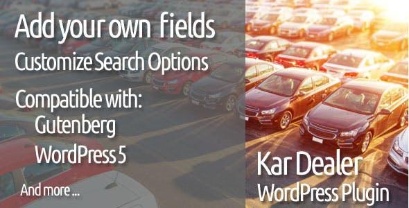 Car Dealer WordPress Plugin Kar Dealer