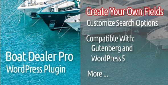 Boat Dealer Pro WordPress Plugin - CodeCanyon Item for Sale