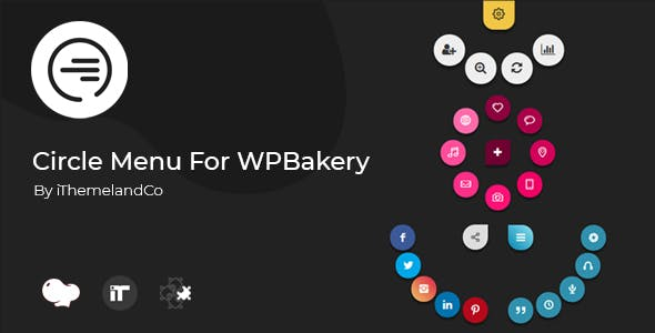 Circle Menu For WPBakery Page Builder (Visual Composer)
