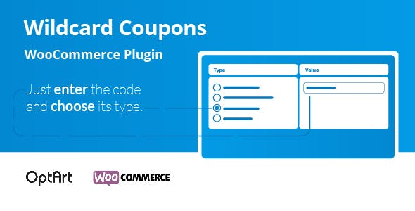 Wildcard Coupons WooCommerce Plugin