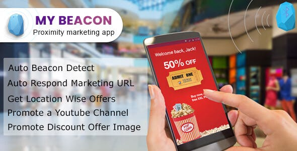 MY Beacon - Proximity marketing App