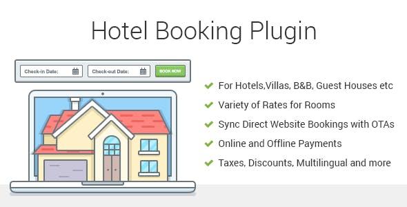 Hotel Booking - Property Rental WordPress Plugin