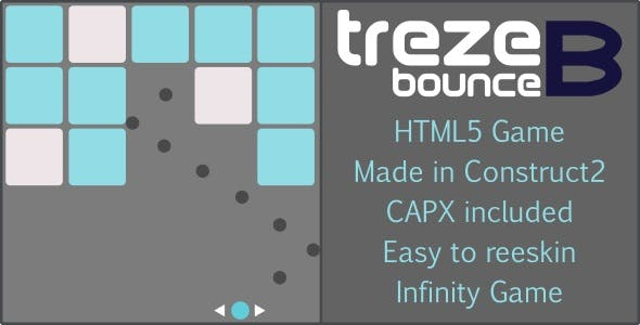 trezeB-bounce - HTML5 Casual game