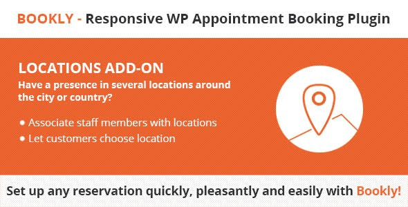 Bookly Locations (Add-on)        Nulled