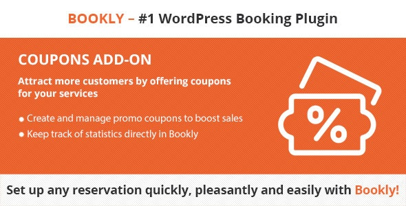 Bookly Coupons (Add-on) - CodeCanyon Item for Sale