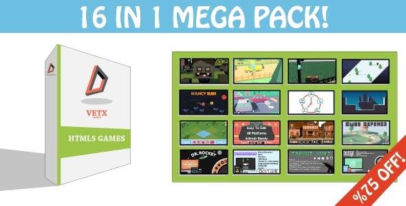 16 Games In 1 Mega Pack!