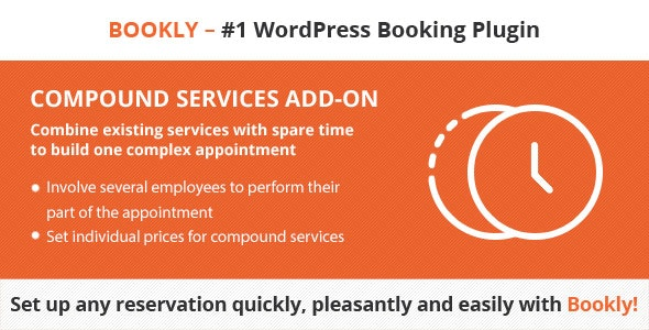 Bookly Compound Services (Add-on) - CodeCanyon Item for Sale