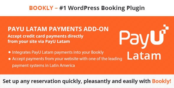 Bookly PayU Latam (Add-on)