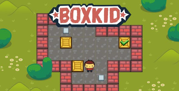 BoxKid - HTML5 Puzzle Game