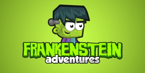 Frankenstein Adventures - HTML5 Game + Mobile Version! (Construct-2 CAPX)