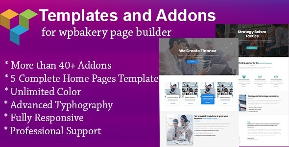 Templates and Addons for WPBakery Page Builder - CodeCanyon Item for Sale