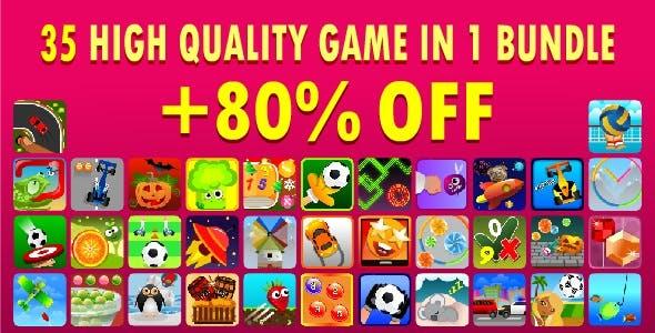 Bundle - 35 High Quality Games