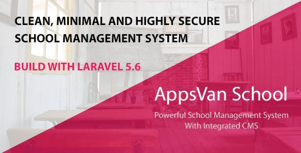 AppsVan School - School Management System With Integrated CMS