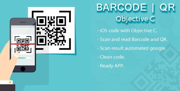 iOS barcode and QR scanner by Reactiveweb | CodeCanyon