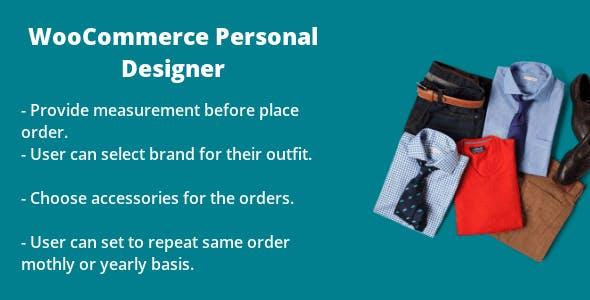 WooCommerce Personal Designer