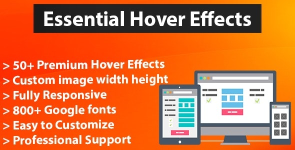Essential Hover Effects - CodeCanyon Item for Sale