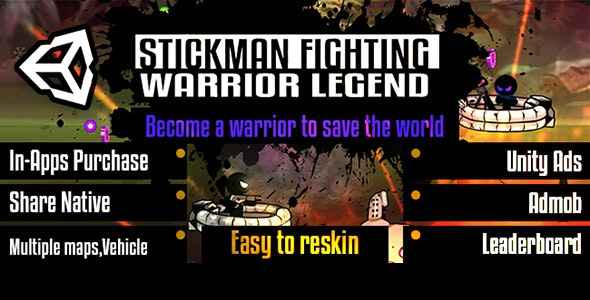 Stickman Shooting- Unity Template - CodeCanyon Item for Sale