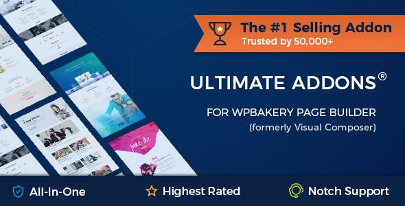 Ultimate Addons for WPBakery Page Builder (formerly Visual Composer)