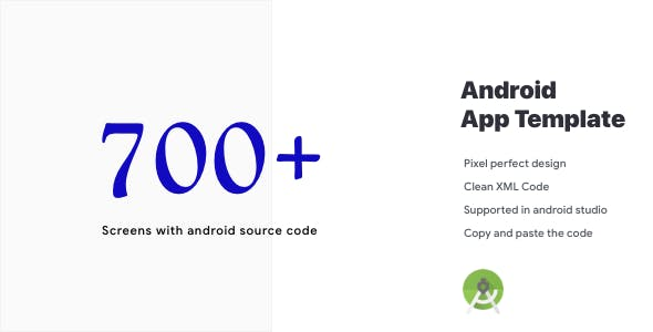 Android app template with code BIG BUNDLE