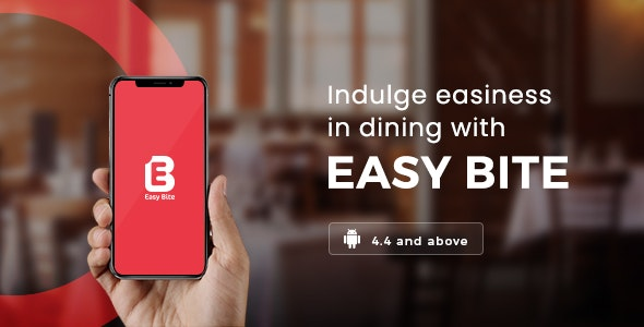 EasyBite   Restaurant Booking App   Android Template - CodeCanyon Item for Sale