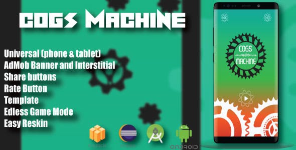 Cogs Machine ( Android Project + Eclipse + Admob + Bbdoc )