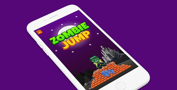 ZOMBIE JUMP WITH ADMOB - ANDROID STUDIO & ECLIPSE FILE
