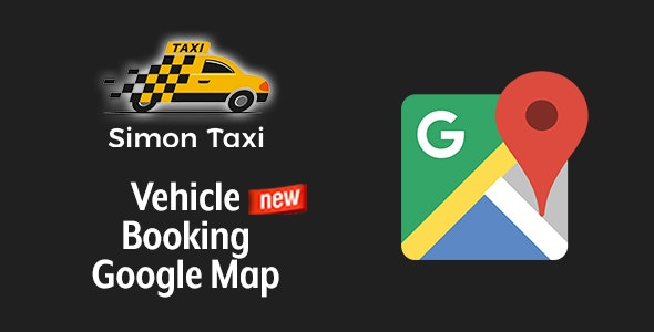 Simontaxi - Vehicle Booking Google Map - CodeCanyon Item for Sale