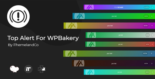Top Alert For WPBakery Page Builder (Visual Composer)